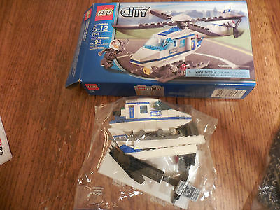 Lego City Police Helicopter 7741 With Minifigure Instructions