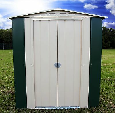 TRECO GARDEN SHED 63EX FEDERATION GREEN 1.71m W x 0.82m D x 1.93m H