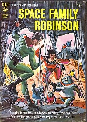 Space Family Robinson #12 VG (Gold Key 1965)