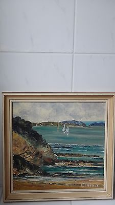 Painting By Frances Steele Cockle Bay New Zealand