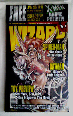 "WIZARD #64: ""Darkness #1.  ""Ash Glow Chrome"".   December 1996.   Factory Sealed."