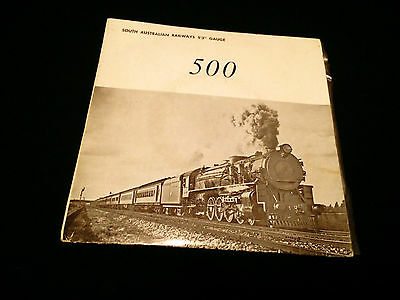 "South Australian Railways 5'3"" Gauge 500 Australia 7"" Vinyl Hi Rail Steam Trains"