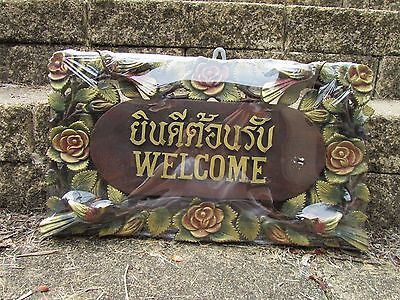 NEW wooden welcome home sign, 50 cm x 30 cm