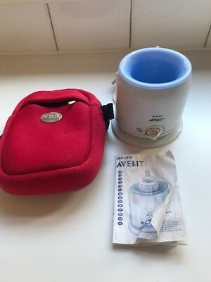 Philips Advent Bottle Warmer & Avent Thermal Bag