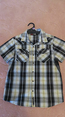 BOYS SIZE 14 SHIRT - short sleeve