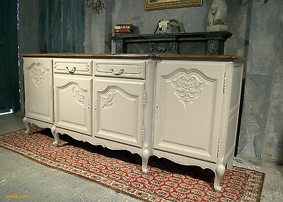 Sideboard Table Vintage Carved Oak French Sideboard In Louis Xv Style