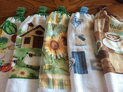 5crochet Tops Double Thickness Hand Towels