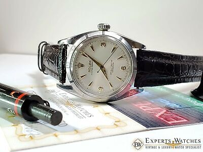 """Vintage Rolex 1954 """"Oyster Perpetual"""" Chronometer Caliper 1030 watch Ref. 6581"""