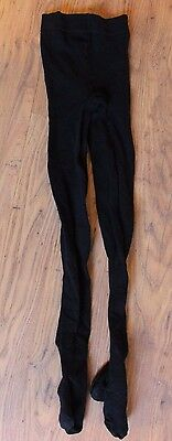 Small Black Cotton Rich Tights - Marks and Spencer Warm minor defects one pair