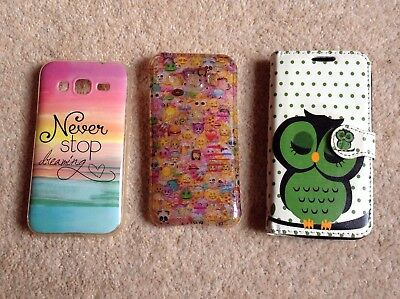 3 Phone Cases For A Samsung Galaxy Core Prime