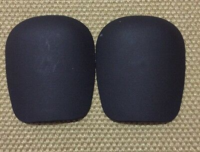 Destroyer - Replacement Knee Pad Caps (black) Pair
