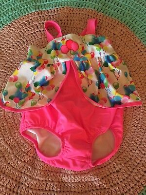 BNWT Pumpkin Patch Baby Girl Swimmers - Size 12-18 Months
