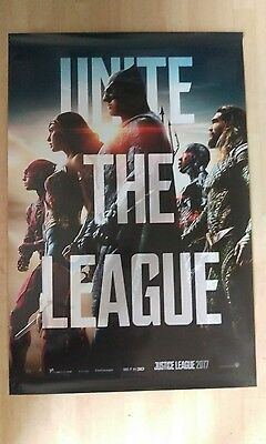 justice league - UK cinema One sheet