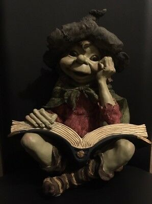 Rare XLarge Anthony Fisher Pixies Figurine Figure Statue Labyrinth Fairies Froud