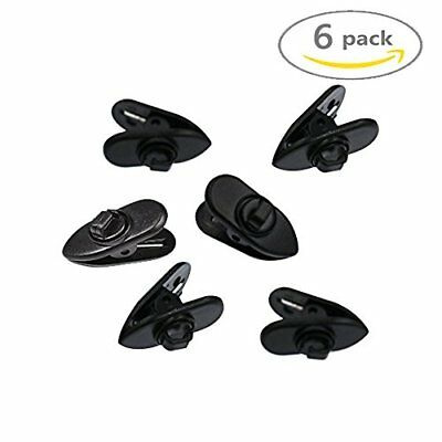 Shindel Rotate Mount Cable Clothing Clip, Shirt Clips for Headphone, Earphone