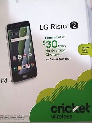 *****NEW LG RISIO 2 M154 *****4G/LTE 16GB / UNLOCKED for all GSM carriers