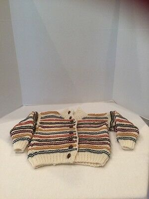 Handmade Childs Sweater Size 5