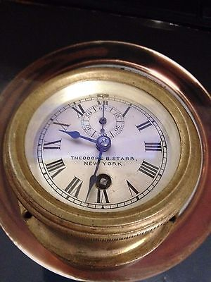 Chelsea  car clock made for Theodore B. Starr , New York