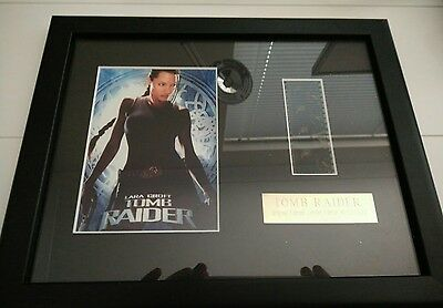 Film Cell Framed. Tomb Raider with Certificate of Authenticity