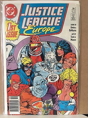 Justice League Europe #1 1989 in VF+/NM