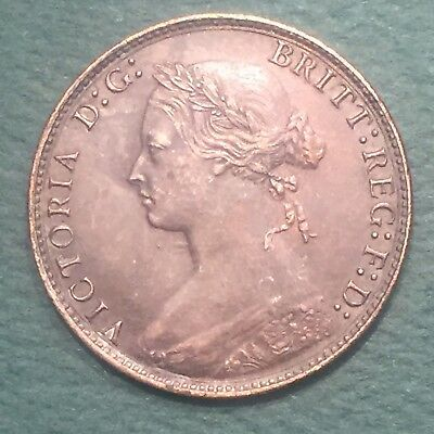 1875 GREAT BRITAIN - HALF PENNY - Victoria