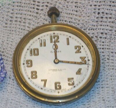 Antique 8 day swiss made  travel clock j.boseck & co ltd parts or repair