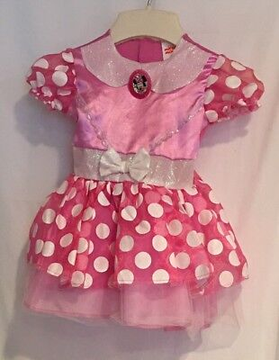 Disney Minnie Mouse Dress up costume XS toddler 2T