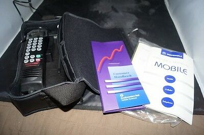 Vintage Early Motorola Scn2532A Mint Condition Working Brick Car Cell Phone