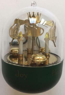 1993 Song of the Chimes Hallmark Ornament Flickers Light Motion and Sound