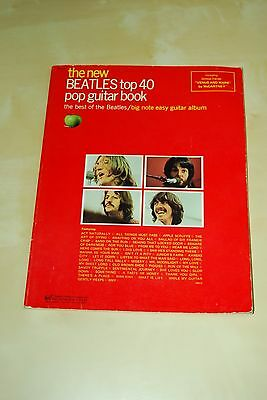 THE BEATLES - Vintage guitar songbook from 1975 US