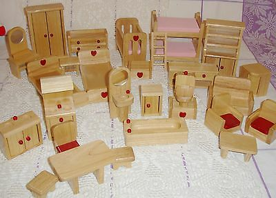 Elc Early Learning Centre Wooden Farm With Animals Picclick Uk