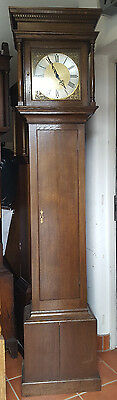 Oak 8 Day Grandfather Clock, Delivery Arranged
