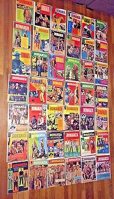 Bonanza Comic Books, the complete set of 42 issues! Nice! Makes a great gift!!!!