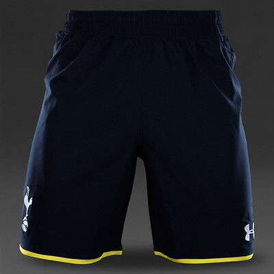 tottenham hotspur under armour ua football epl soccer sports shorts size Large L