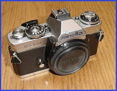 Minolta XD11 35mm SLR Manual Focus Film Camera Body XD-11
