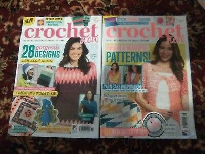 Crochet Now Magazines  issues-11,16