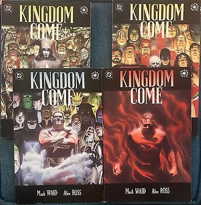 # Kingdom Come #1-4 Complete Set DC COMIC1996 Alex Ross Mark Waid Elseworlds 2 3