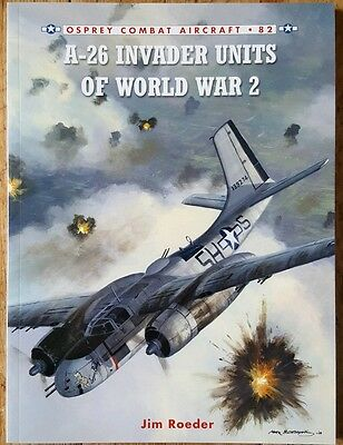 A-26 Invader Units of World War 2 by Jim Roeder Paperback Book (English)