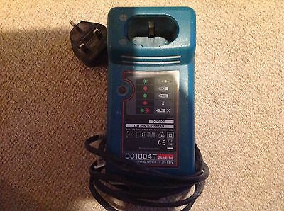 Makita DC1804 Battery Charger 7,2-18V