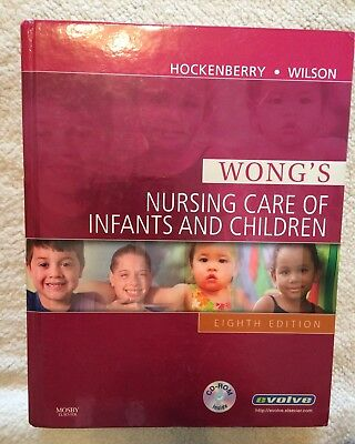 Nursing Care Of Infants And Children Eighth Edition Hardcover Textbook By Wong's