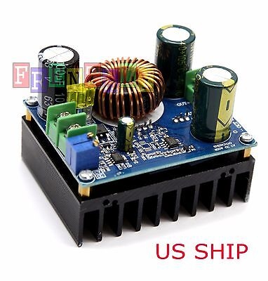 DC-DC 600W 10-60V to 12-80V Boost Converter Step-up Module car Power Supply SE