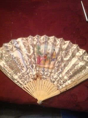 Vintage  Fan Mother Carters Fan Cica 1853