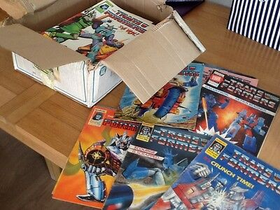 Transformers comics from the 1980's