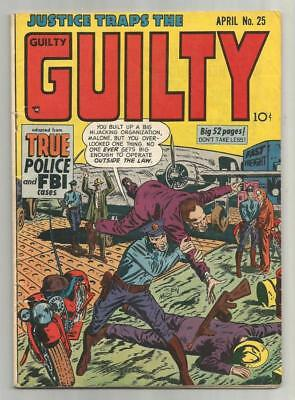 Justice Traps the Guilty #25, April 1951