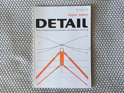 Detail Review of Architecture Journal / Magazine (English Edition) 2013-5