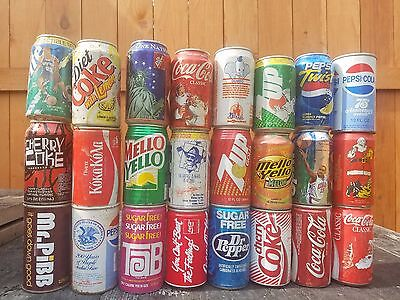 old soda cans huge collection