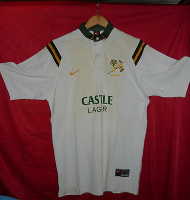 S.A. SPRINGBOK RUGBY SIGNED JERSEY 2001 to 2002