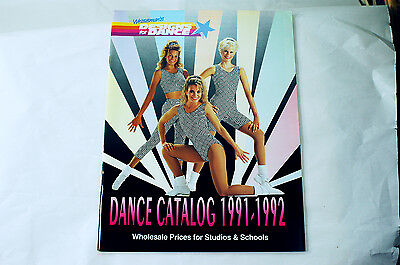 2 Dance Magazine / Catalogs  1991 / 1992 Desings For Dance / Drill Team Camps