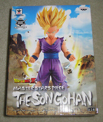 NEW Dragon Ball Z DBZ Banpresto Master Stars Piece The Son Gohan Authentic in US