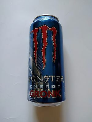 2x Monster 16 oz. Energy Drink Gronk Full Cans